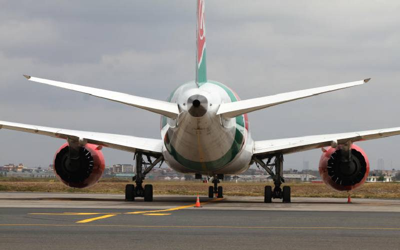 Kenya Airways is down but definitely not out